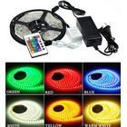 Komplet sæt: 14w RGB stænktæt LED strip - 5m, 60 LED, 14w pr. meter!, AP5-Pack: 1841-defaultCombination