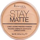 Rimmel Stay Matte Long Lasting Pressed Powder #006 Warm Beige