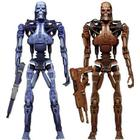 "NECA The Terminator RoboCop vsThe Terminator Series 1 Endoskeleton Assault Exclusive 7"" 2 Pack"