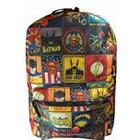 DC Comics Batman/Superman and The Flash Vintage Backpack
