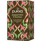 Pukka Peppermint & Licorice 20 Tepåsar
