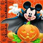 Disney Junior Disney Mickey Mouse Halloween Paper Napkins, Pack of 20
