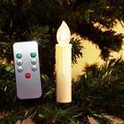 Trådlös Julgransbelysning - 10st med Fjärrkontroll
