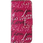 Mini in the Box Word Phrase Pattern PU Leather Flip Case with Magnetic Snap and Card Slot for Nokia Lumia N630/635/Lumia625/520