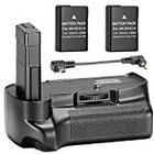 Neewer® Professional Vertical Battery Grip with 2 Pack 7.4V 1200 mAh Replacement EN-EL14 Batteries for Nikon D3100 D3200 D3300 Cameras