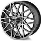 Monaco TR3 Black/Polished 18x8,0 5/112 ET45 N66,5