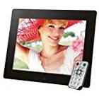 Intenso 3925800 Mediagallery Digitaler Bilderrahmen mit 24,6 cm (9,7 Zoll) LCD/Display schwarz