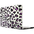 Skal Macbook Pro Leopardmönster vit & lila 15.4-tum