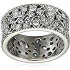 Pandora Women 9 k (375) Silver Zircon Rings
