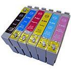 Prestige Cartridge Compatible Epson T0807 Printer Ink Cartridges - Black/Cyan/Magenta/Yellow/Light Cyan/Light Magenta (Pack of 6)