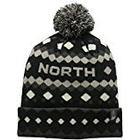 The North Face Ski Tuke V Mütze, Schwarz/Grau/Weiss/Pink/Tnf Black, One Size