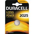 Duracell knappcellsbatteri, CR 2025, Lithium, 3V