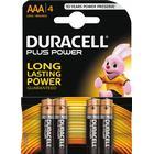 Duracell batteri, AAA (LR03), 1,5V, 4-pack