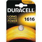 Duracell knappcellsbatteri, CR 1616, Lithium, 3V