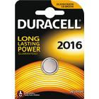 Duracell knappcellsbatteri, CR 2016, Lithium, 3V