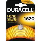 Duracell knappcellsbatteri, CR 1620, Lithium, 3V