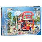 Ravensburger - The Bus Conductress (500 Piece)