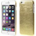 Apple iPhone 6/6s Plus Design Plastik Cover - Lizard Guld