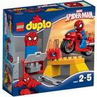Lego Duplo Spider Man Web Bike Workshop 10607