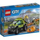 Lego City Le Camion d'Exploration du Volcan 60121