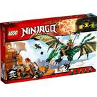 Lego Ninjago Le Dragon Émeraude de Lloyd 70593