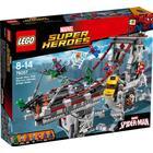 Lego Super Heroes Spiderman Edderkoppekrigernes Ultimative Kamp på Broen 76057