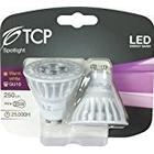 TCP GU10 4 W LED 1 35 W Incandescent Replacement Reflector, Pack of 2