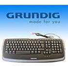 Grundig Multimedia Keyboard 72854 PC / Mac, Keyboard
