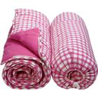 WIN Green Sovepose - Pink Gingham