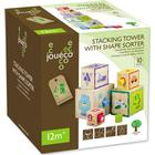 Jouéco Stacking Tower with Shape Sorter 80026