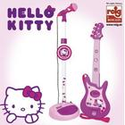 Reig Hello Kitty : Conjunto Guitarra Y Micro