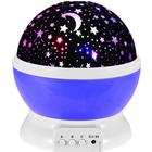 Sammydress Autorotation LED Babysbreath Starry Sky Nattlampa
