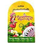 Alligator Books Strawberry Shortcake Carry Along Colouring Set