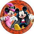 Disney Junior 20cm Mickey Mouse Halloween Party Plates, Pack of 8