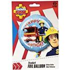 Amscan International Fireman Sam Hapy Birthday