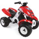 Smoby Elektrisk fyrhjuling X-Power, röd