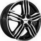 Ronal R57 Black Polished 7.5x18 4/108 ET24 B76