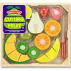 Melissa & Doug Cutting Fruit Set Wooden Play Food