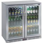 Lec Stainless Steel Double Door Back Bar Cooler - Bc9097st