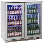 Prodis Nt2svh Double Hinged Door Bottle Cooler Silver Finish