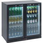 Lec Back Bar Bottle Cooler Hinged Doors 180 Bottles - Bc9007k