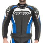 Rst Tractech Evo 2 Blue Leather Jacket - 40