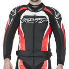 Rst Tractech Evo 2 Flo Red Leather Jacket - 40