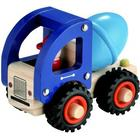 ImageToys Wooden Concrete Mixer with Rubber Wheels
