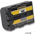 eQuipIT Batteri Sony NP-FM50 QM51 1300mAh 7.2V