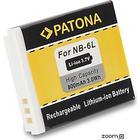 eQuipIT Batteri Canon NB-6L 800mAh 3.7V