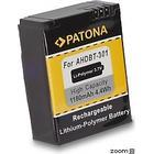 eQuipIT Batteri GoPro AHDBT-302 Hero 3+ 1180mAh 3.7V