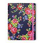Accessorize Russian Rose Fashion Universal Samsung Folio Case Cover with Built-In Stand for 10.1-Inch Samsung Galaxy Tab 2/3/4