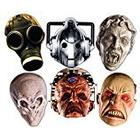 """Star Cutouts Ltd Star Cutouts SMP70 """"Doctor Who Monster"""" Cardboard Mask (Pack of 6)"""
