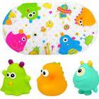 Knorrtoys knorr® toys escabbo® Bademåttesæt - Happy Monster